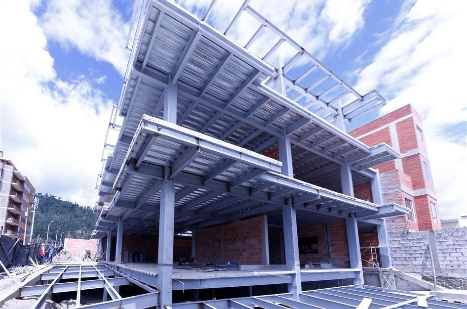Estructuras met licas constructora pc cuenca ecuador - Estructura metalicas para casas ...