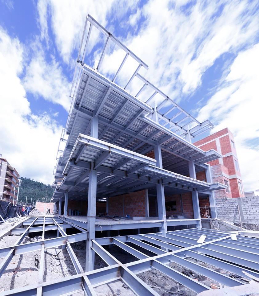 Lujo estructuras metalicas para viviendas componente ideas de dise o de interiores - Estructura metalica vivienda ...